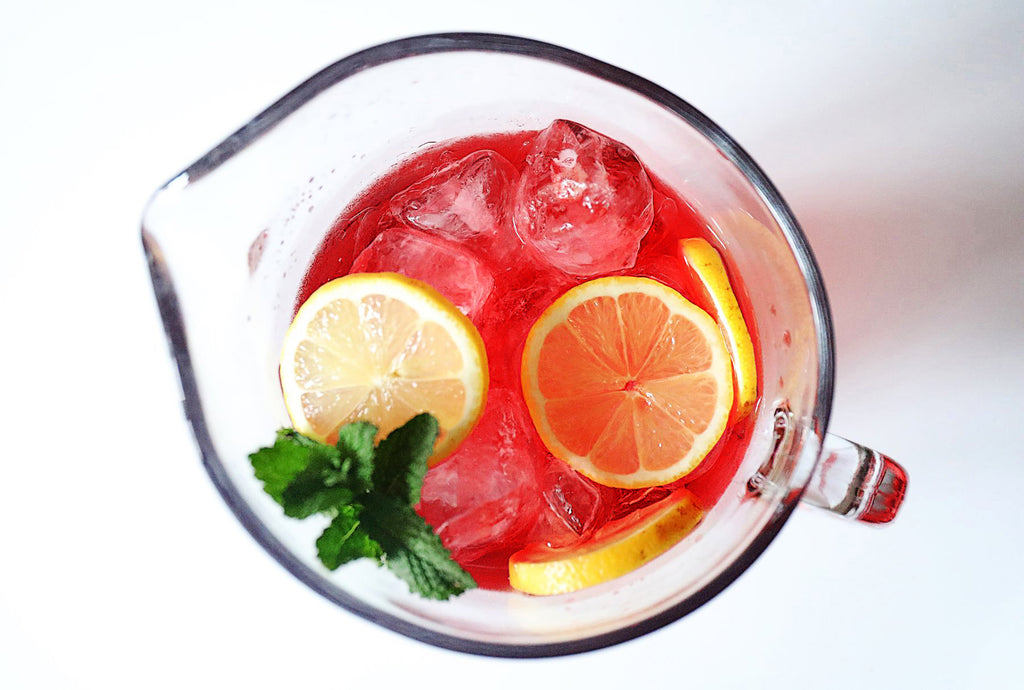 Pomegranate and Ginger Mocktail