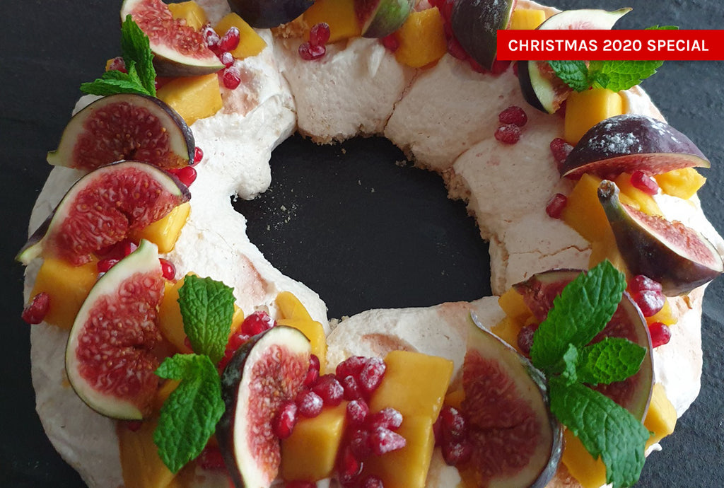 Plant-Based Pavlova Wreath