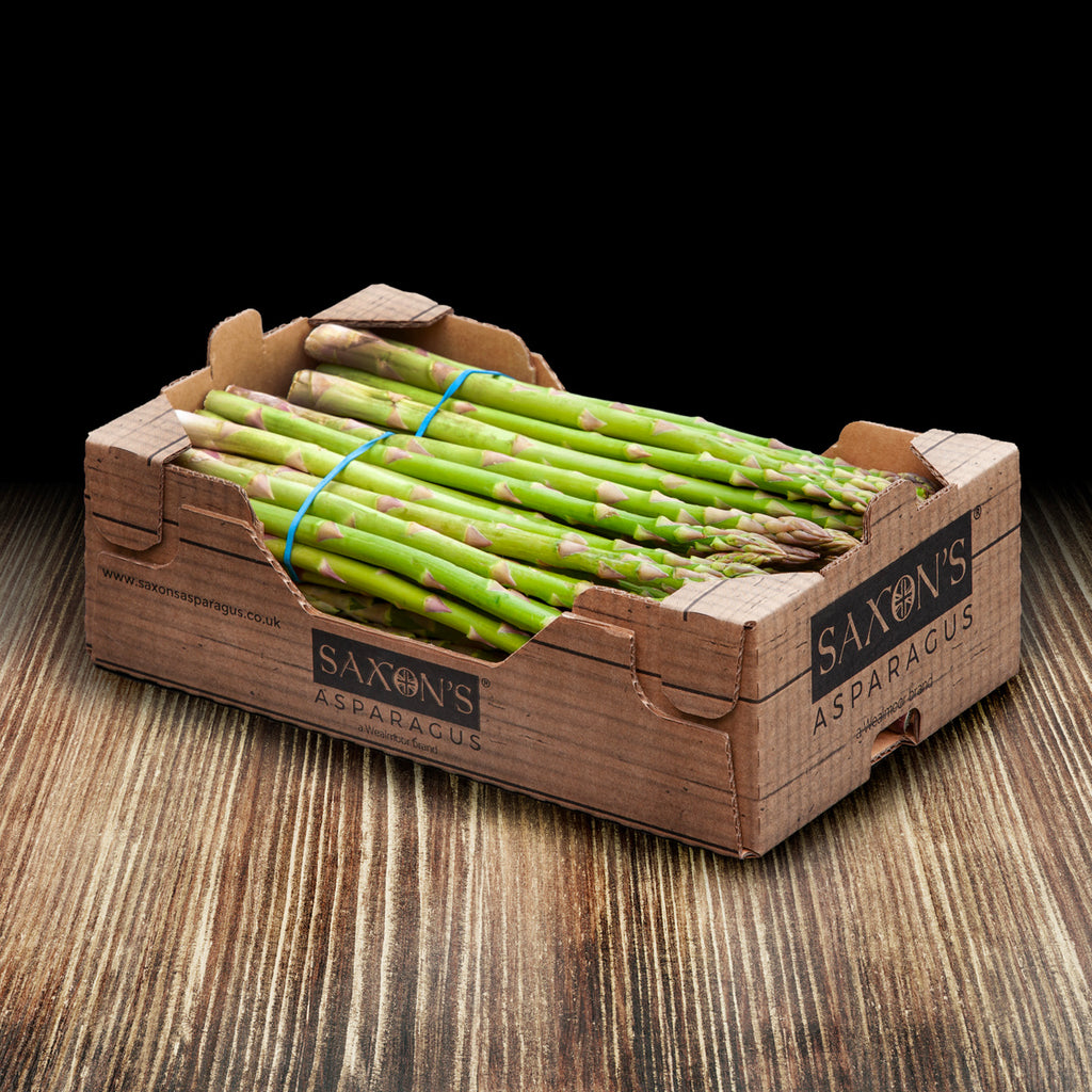 Saxon's New Season British Asparagus Box