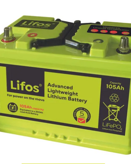 Lifos 105ah Smart Lithium Battery