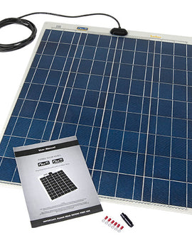 Solar 80w Flexible solar panel kit