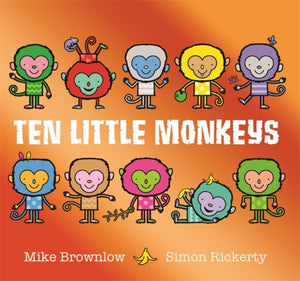 Ten Little Monkeys-9781408355893