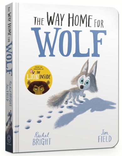 The Way Home for Wolf Board Book-9781408359501