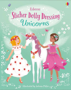 Sticker Dolly Dressing Unicorns-9781474967822