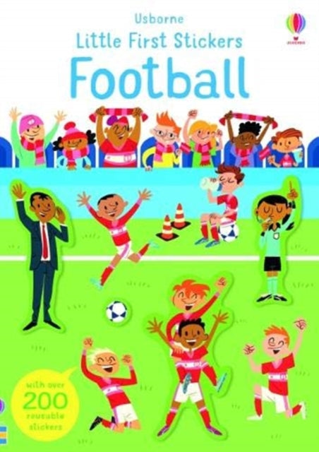 Little First Stickers Football-9781474969260