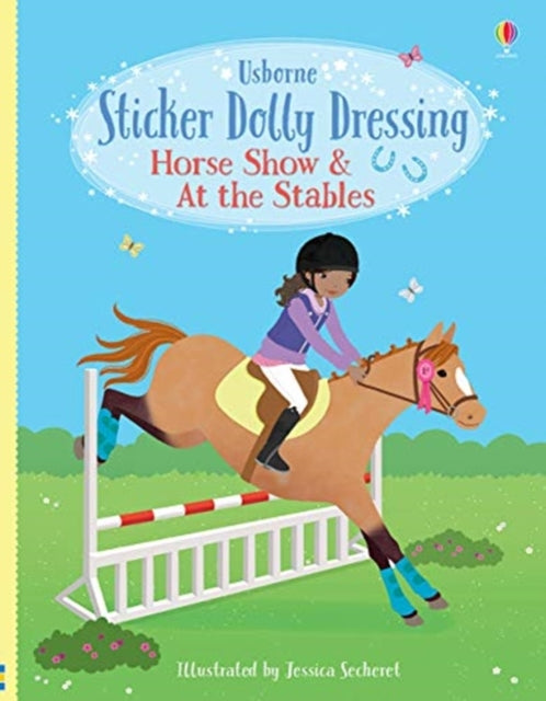 Sticker Dolly Dressing Horse Show and At the Stables-9781474971621