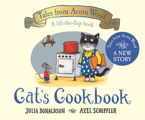 Cat's Cookbook : A new Tales from Acorn Wood story-9781529034363