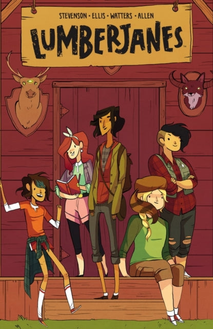 Lumberjanes Vol. 1 : Beware The Kitten Holy : 1-9781608866878