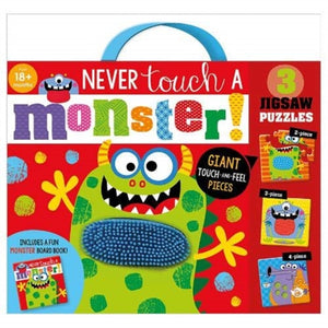Never Touch A Monster Jigsaw Puzzle-9781800580558