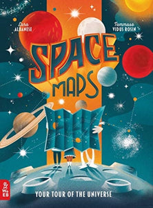 Space Maps : Your Tour of the Universe-9781912920556