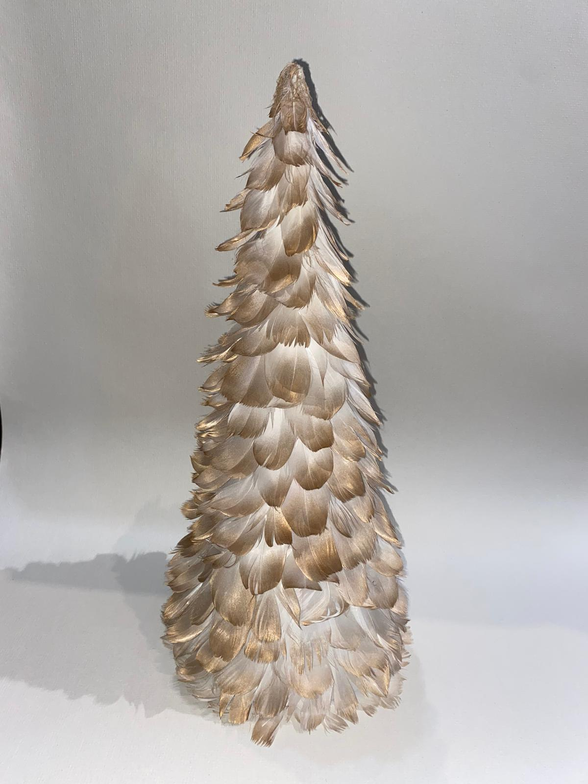 Gold Feather Tree
