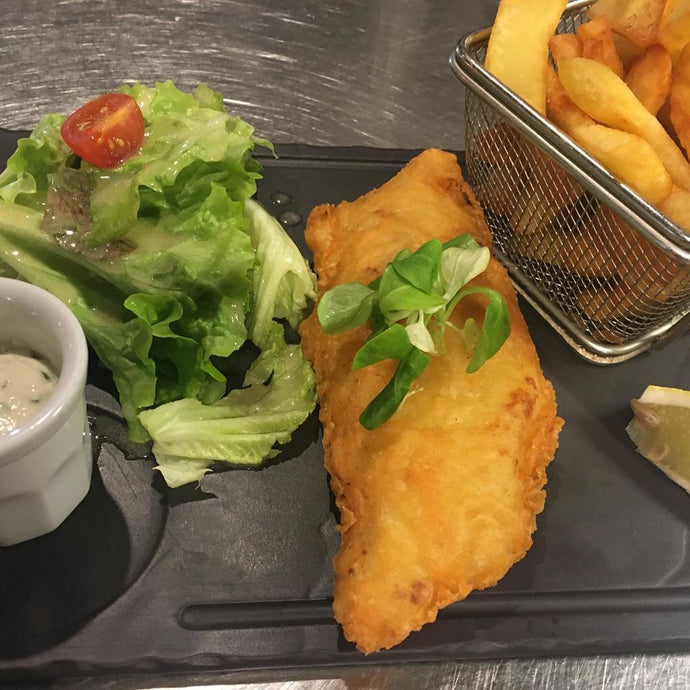 Fish n'  Chips Cabillaud