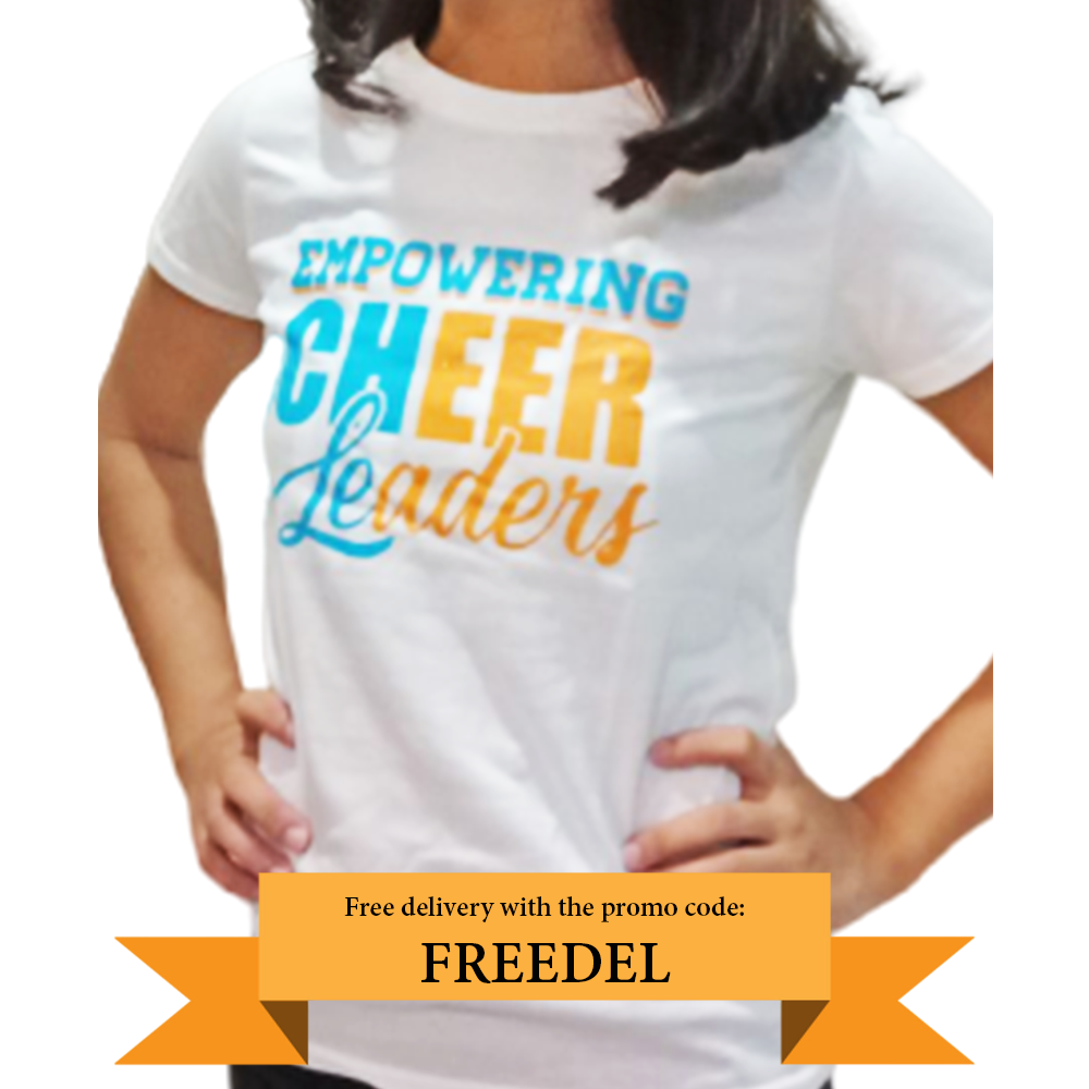 Empowering Cheerleaders Tee
