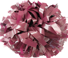 Load image into Gallery viewer, 1 pc Cheerleading Pom Pom Wet Look With Baton Handle 8''