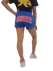 Embroidered CHEER Shorts