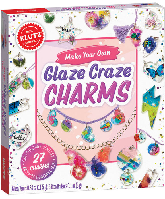 Make Your Own Glaze Craze Charms Craft Kit