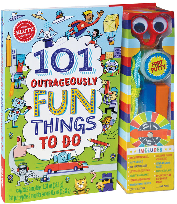 101 Outrageously Fun Things to Do Activity Kit