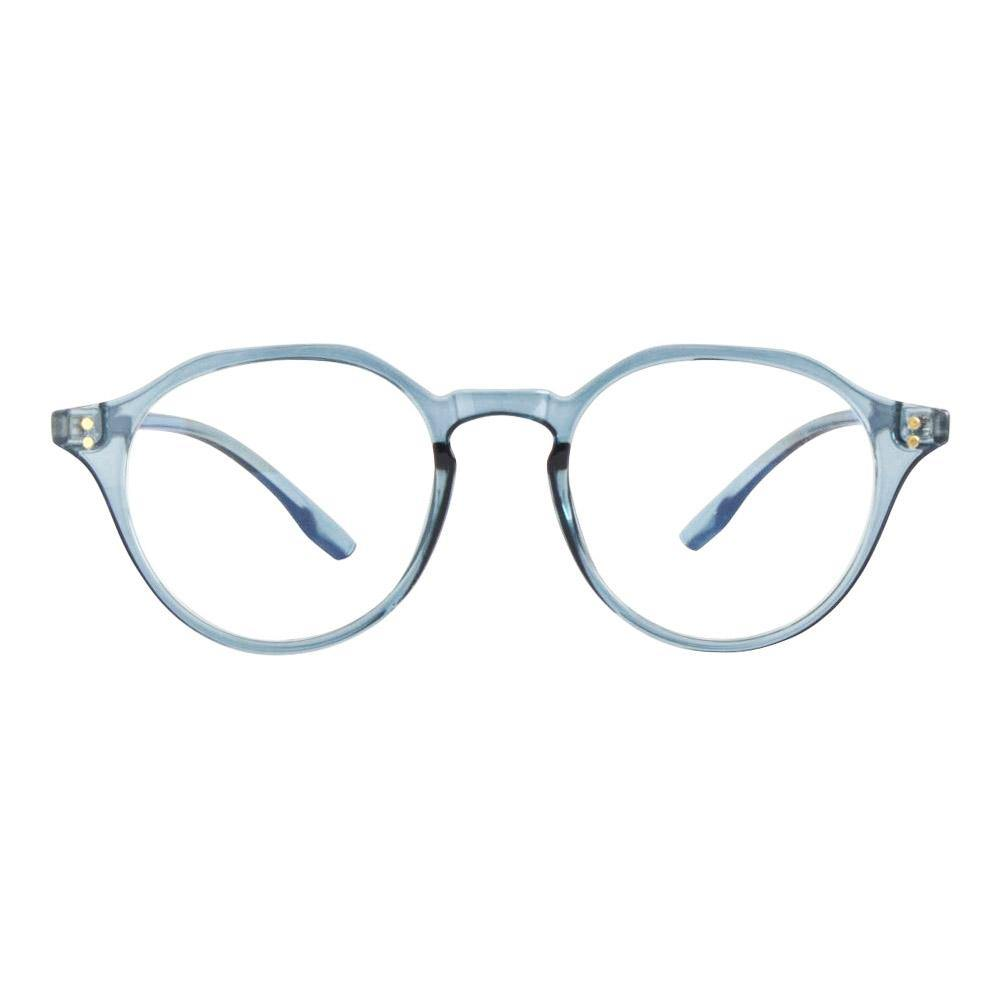 Athena Vintage Blue Light Glasses in Blue Ice