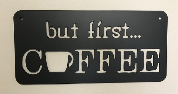 but first... Coffee
