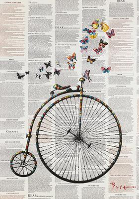 Canvas - Framed Bicycle Print Valuezy Australia