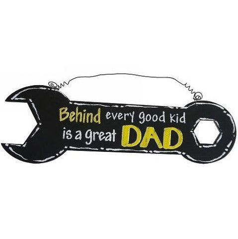 DAD - Behind Every Great Kid Is A Great Dad Sign Valuezy Australia