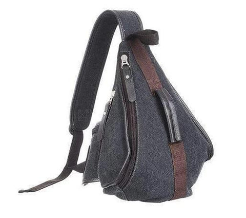 Men's Canvas Sling Backpack valuezy australia