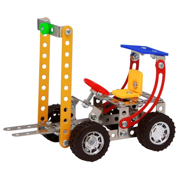 Construct It! - Fork Lift Construct It! - Excavator toy  craft hobby Valuezy Australia