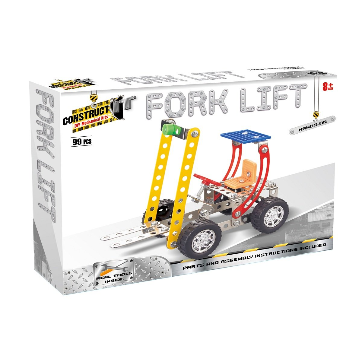Construct It! - toy  craft hobby Fork Lift 2 Valuezy Australia