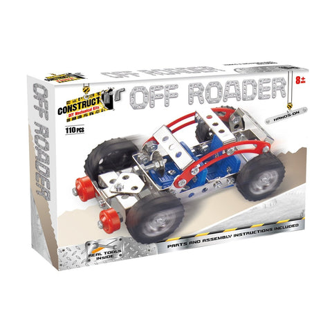 Construct It! - Off Roader Construct It! - Excavator toy  craft hobby Valuezy Australia