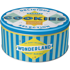 Nostalgic Storage Tin - Round Cookies Valuezy