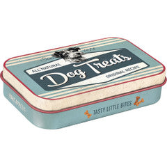 Nostalgic Storage Tin - Pet Treat Box Valuezy