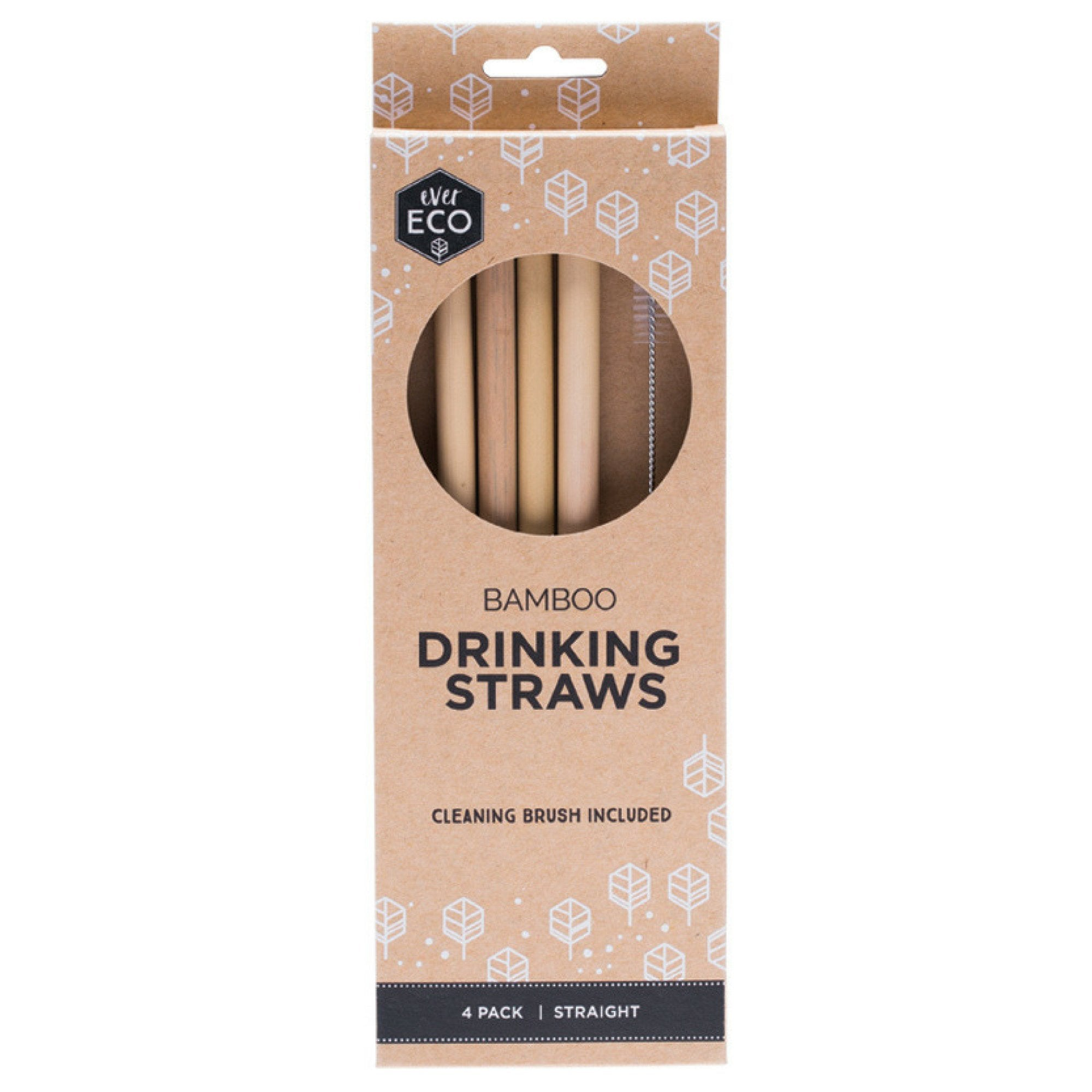 EverEco Bamboo Drinking Straws  2 Eco Friendly Valuezy Australia