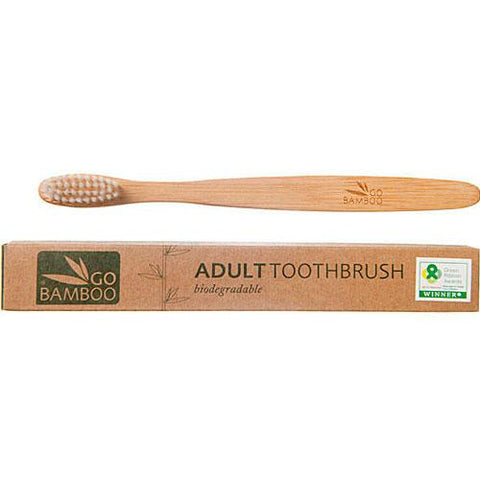 Bamboo Toothbrush - Adult Eco Friendly Valuezy Australia