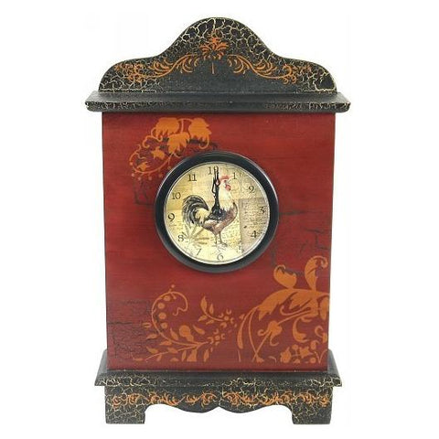 Rooster Mantel Clock Valuezy Australia