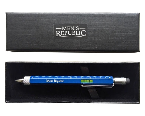 Men's Republic Stylus Pen Pocket Multi Tool 9-in-1 functions Valuezy