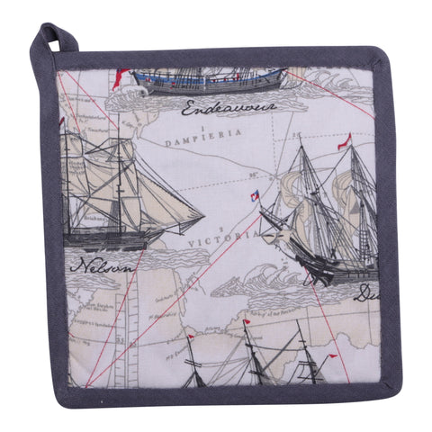 Early Australian Maritime - Pot Holder Valuezy