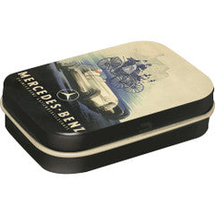 Nostalgic Storage Tin - Mint Box Mercedez-Benz Historic Valuezy