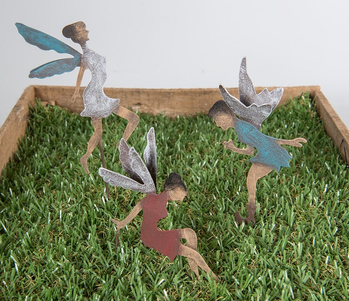 Mini Garden Fairies - Set of 3 Valuezy