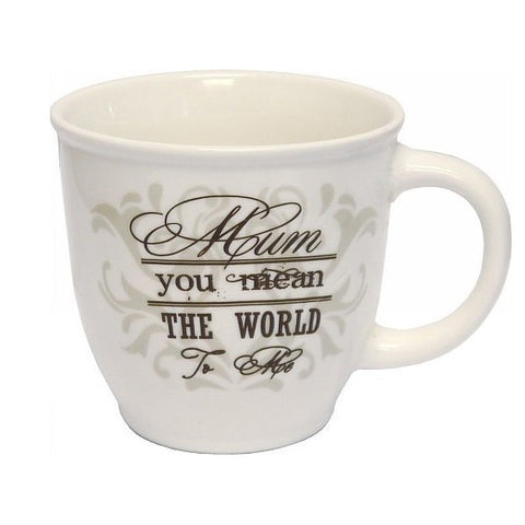 Mum You Mean The World to Me Mug