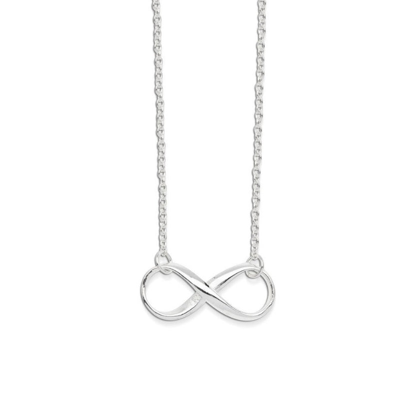 Necklace Silver with Infinity Pendant Valuezy Australia