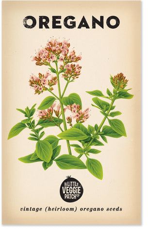 Heirloom Seeds - Oregano 'Common'