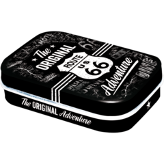 Nostalgic Storage Tin - Mint Box Route 66 Adventure Valuezy