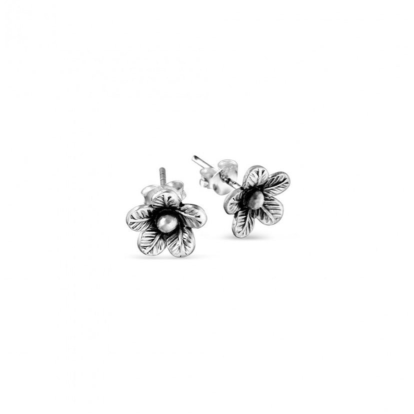 Earrings Silver Flower Studs - Valuezy Australia