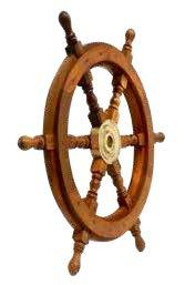 Wooden Ships Wheel - 60cm