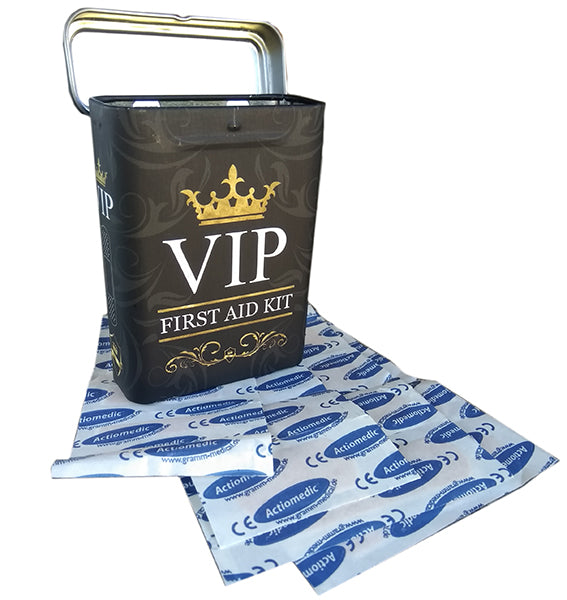 Nostalgic Storage Tin - VIP Bandaid Box Valuezy