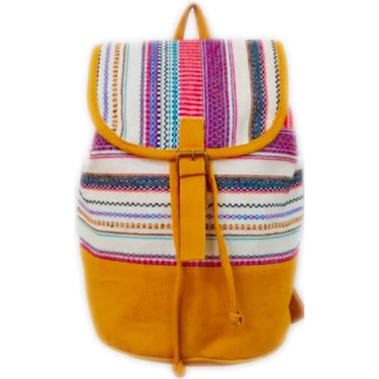 Zianna Cottonwood fabric handstitched Backpack valuezy Australia