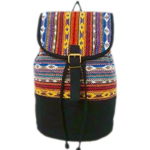 Zianna Eagle Moon fabric handstitched Backpack valuezy australia