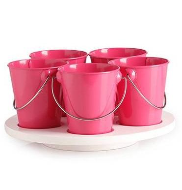 Craft Paint Crayon holder Turntable - Hot Pink Valuezy Australia