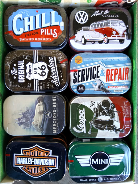 Nostalgic Storage Tin - Mint Box Route 66 Adventure
