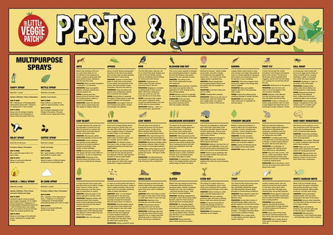 Poster - Pest and Disease Help Chart
